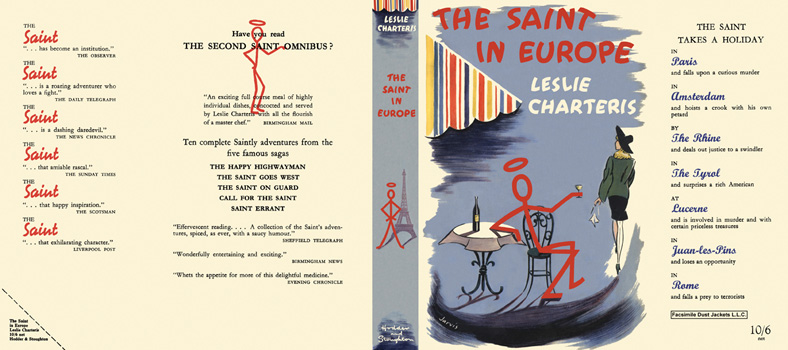 Saint in Europe, The. Leslie Charteris