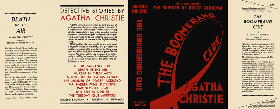 Boomerang Clue, The. Agatha Christie