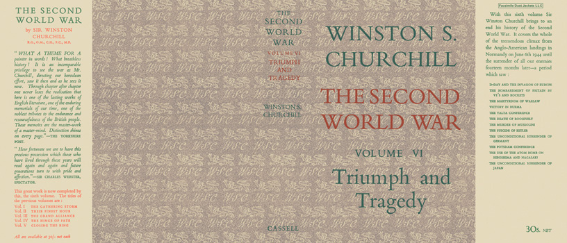 Second World War, Volume VI, Triumph and Tragedy, The. Winston S. Churchill