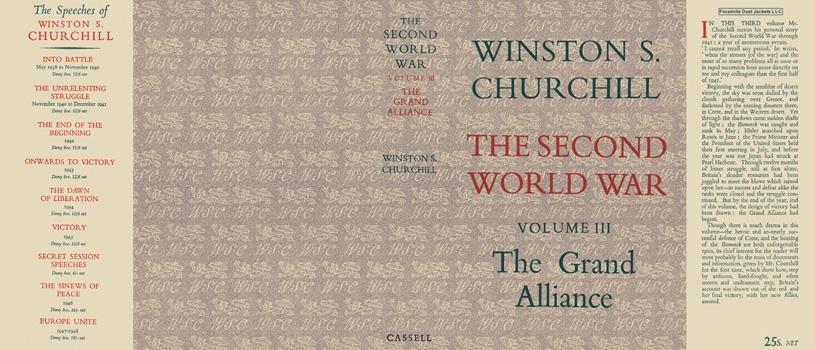 Second World War, Volume III, The Grand Alliance, The. Winston S. Churchill