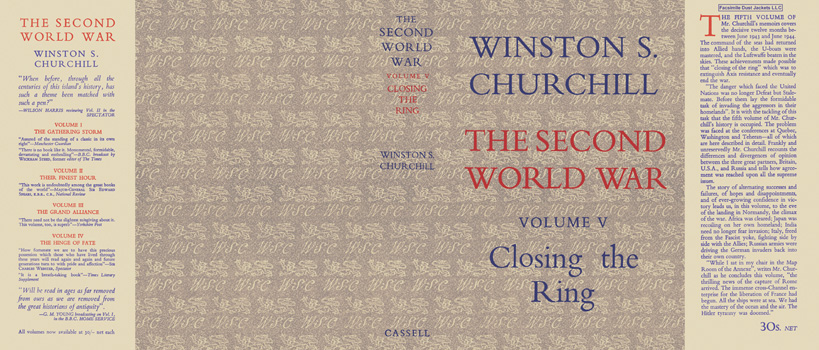 Second World War, Volume V, Closing the Ring, The. Winston S. Churchill