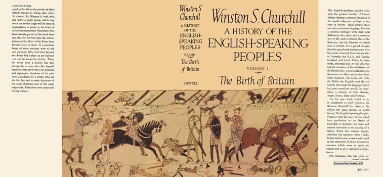 History of the English-Speaking Peoples, Volume I, The Birth of Britain, A. Winston S. Churchill