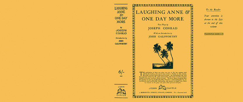 Laughing Anne and One Day More. Joseph Conrad