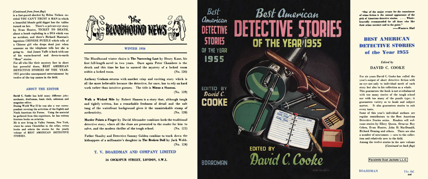 Best American Detective Stories of the Year 1955. David C. Cooke, Anthology