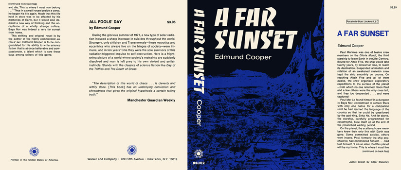 Far Sunset, A. Edmund Cooper.