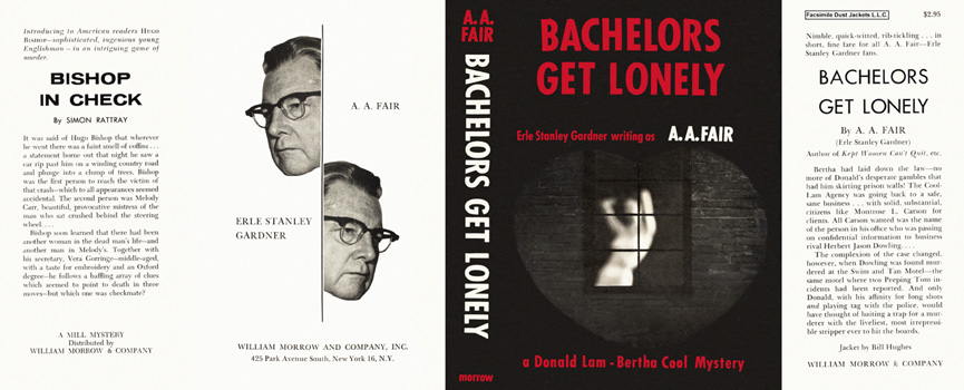 Bachelors Get Lonely. A. A. Fair