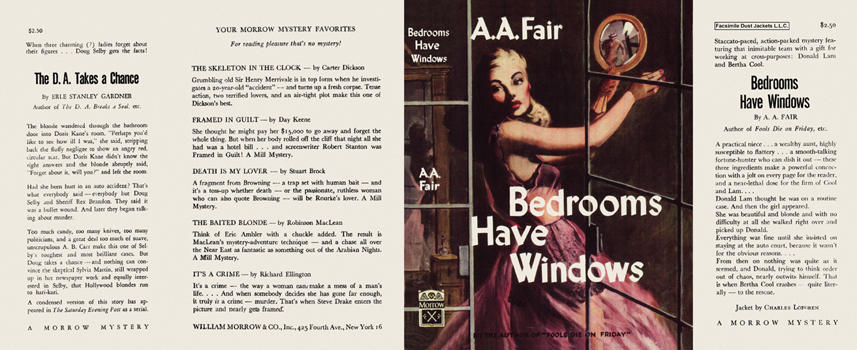 Bedrooms Have Windows. A. A. Fair