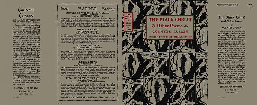 Black Christ and Other Poems, The. Countee Cullen