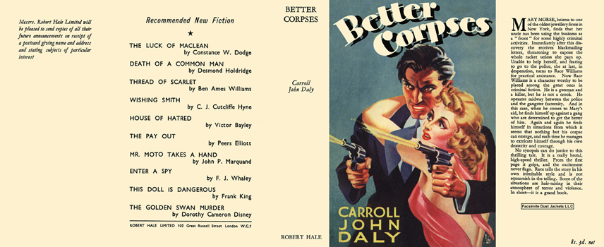 Better Corpses. Carroll John Daly