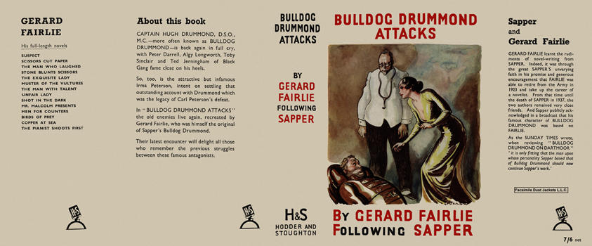 Bulldog Drummond Attacks. Gerard Fairlie