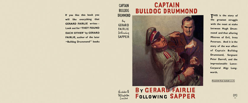 Captain Bulldog Drummond. Gerard Fairlie