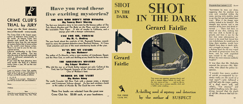 Shot in the Dark. Gerard Fairlie