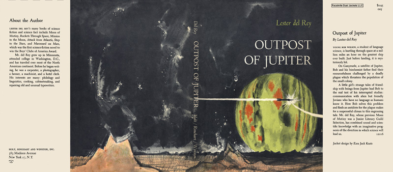 Outpost of Jupiter. Lester Del Rey