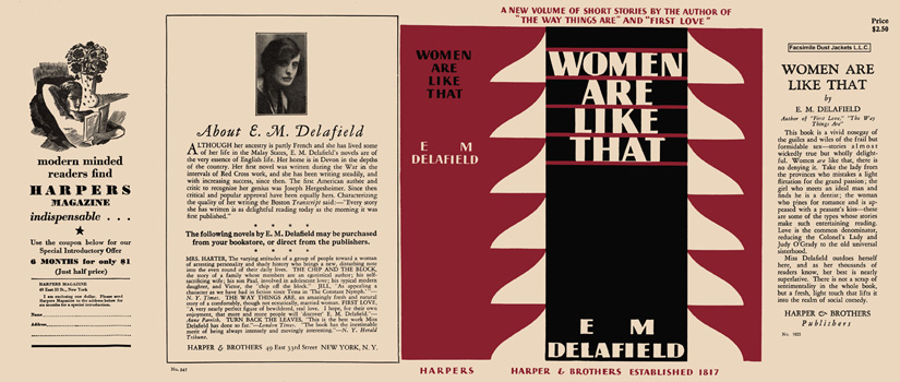 Women Are Like That. E. M. Delafield.