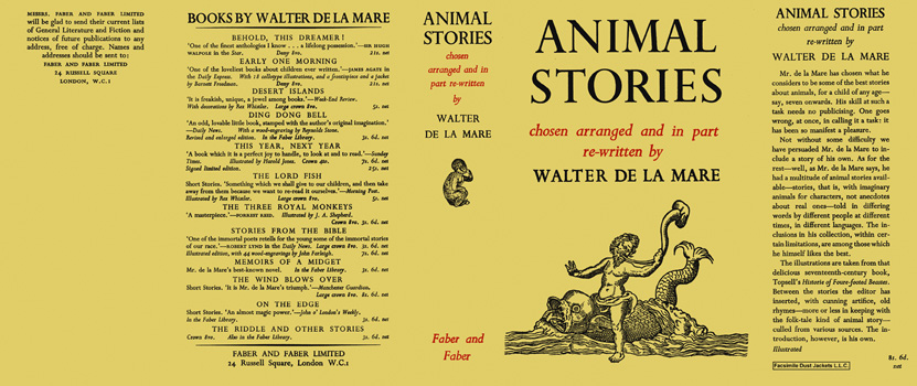 Animal Stories. Walter de la Mare.