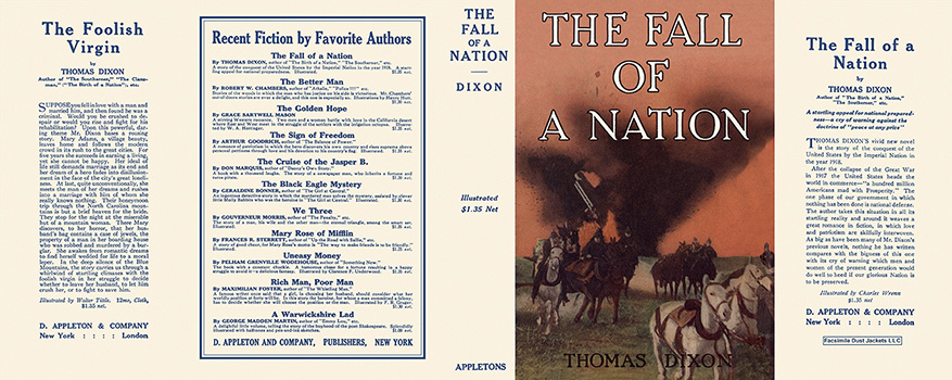 Fall of a Nation, The. Thomas Dixon