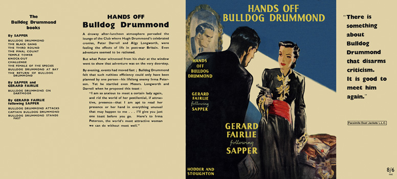 Hands Off Bulldog Drummond. Gerard Fairlie