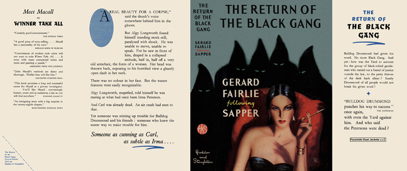 Return of the Black Gang, The. Gerard Fairlie