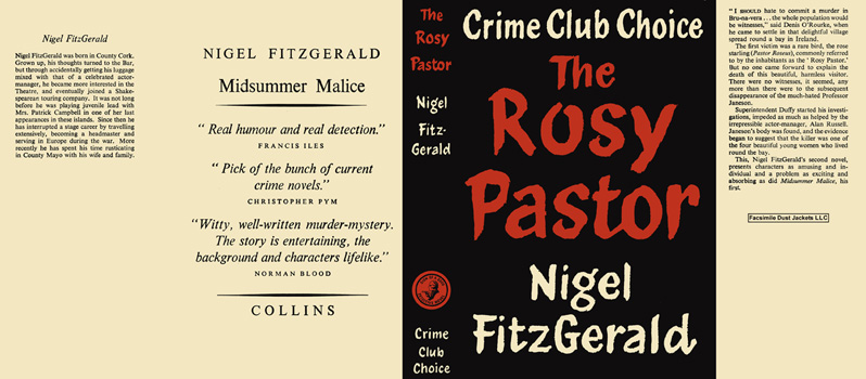 Rosy Pastor, The. Nigel FitzGerald