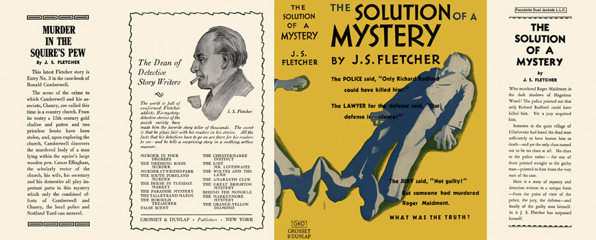 Solution of a Mystery, The. J. S. Fletcher