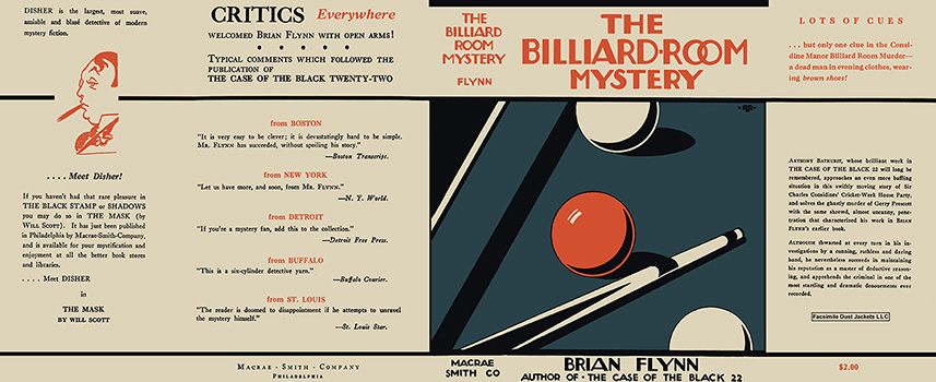 Billiard-Room Mystery, The. Brian Flynn