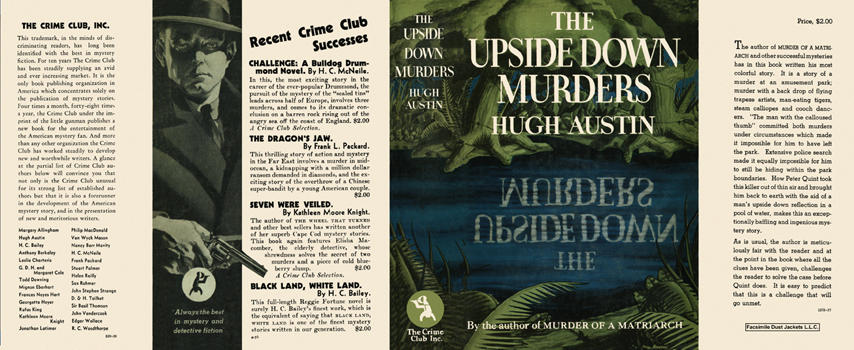 Upside Down Murders, The. Hugh Austin