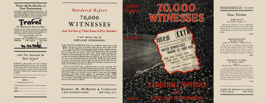 70,000 Witnesses. Cortland Fitzsimmons.