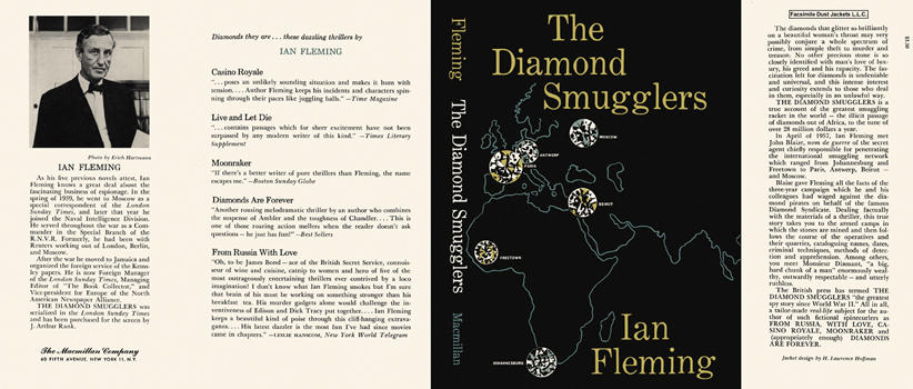 Diamond Smugglers, The. Ian Fleming.