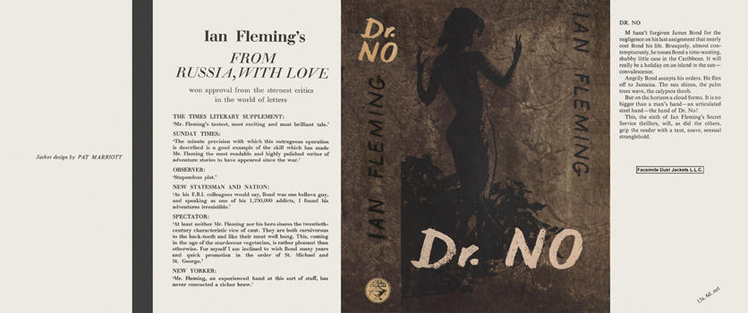 Dr. No. Ian Fleming.