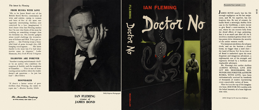 Doctor No. Ian Fleming.