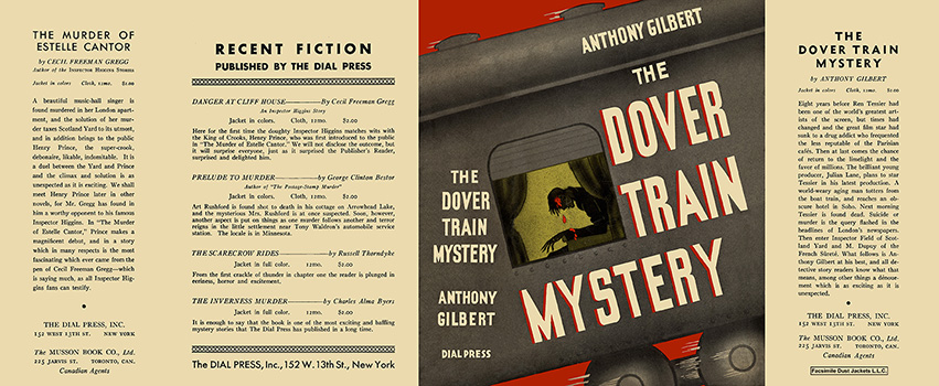 Dover Train Mystery, The. Anthony Gilbert.