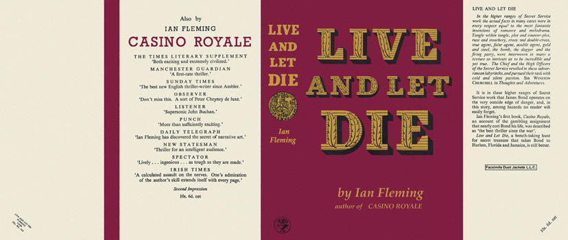 Live and Let Die. Ian Fleming.