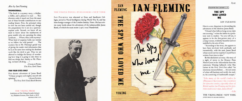 Spy Who Loved Me, The. Ian Fleming.