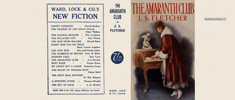 Amaranth Club, The. J. S. Fletcher