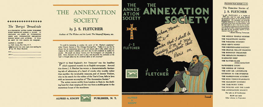 Annexation Society, The. J. S. Fletcher
