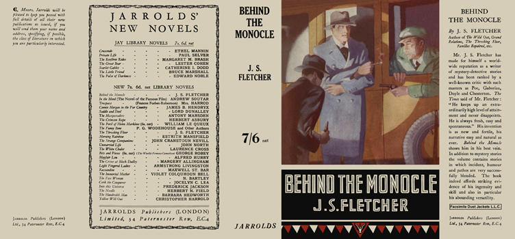 Behind the Monocle. J. S. Fletcher