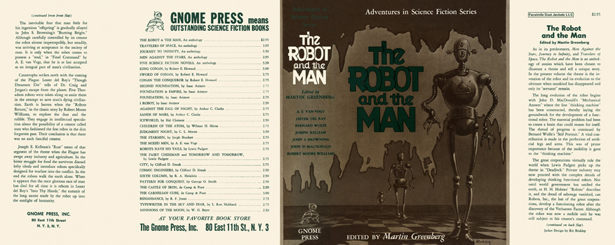 Robot and the Man, The. Martin Greenberg, Anthology.