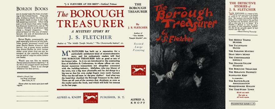 Borough Treasurer, The. J. S. Fletcher