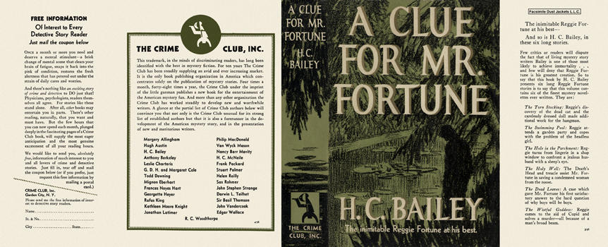Clue for Mr. Fortune, A. H. C. Bailey