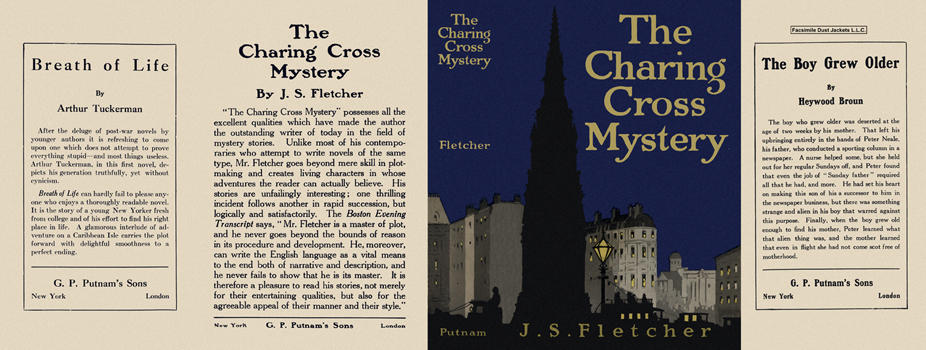 Charing Cross Mystery, The. J. S. Fletcher.