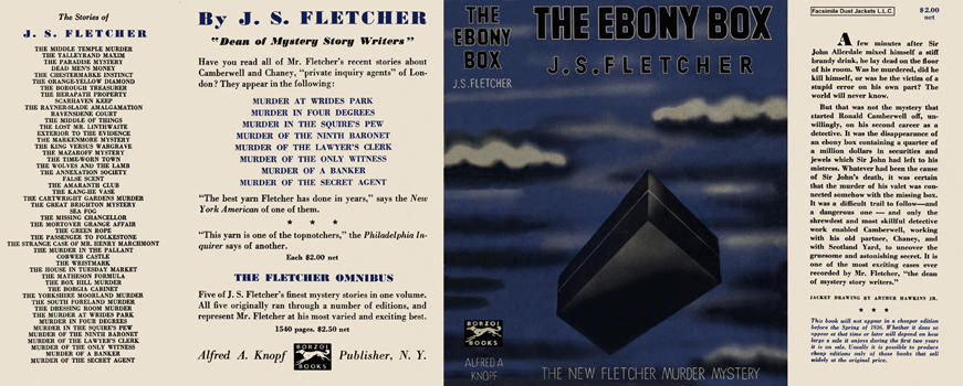 Ebony Box, The. J. S. Fletcher