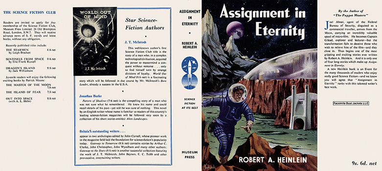 Assignment in Eternity. Robert A. Heinlein.