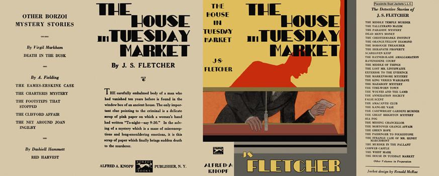 House in Tuesday Market, The. J. S. Fletcher