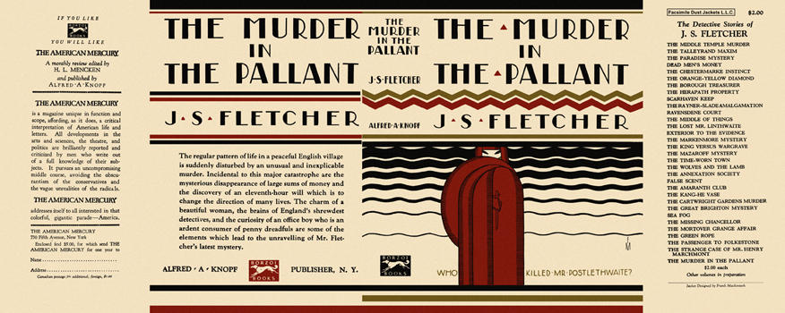 Murder in the Pallant, The. J. S. Fletcher
