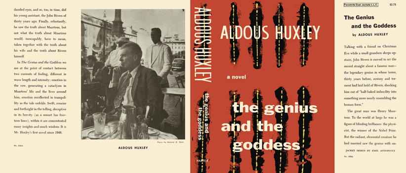 Genius and the Goddess, The. Aldous Huxley