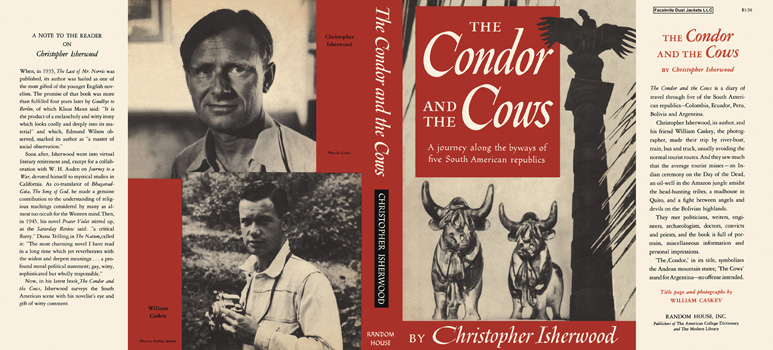 Condor and the Cows, The. Christopher Isherwood
