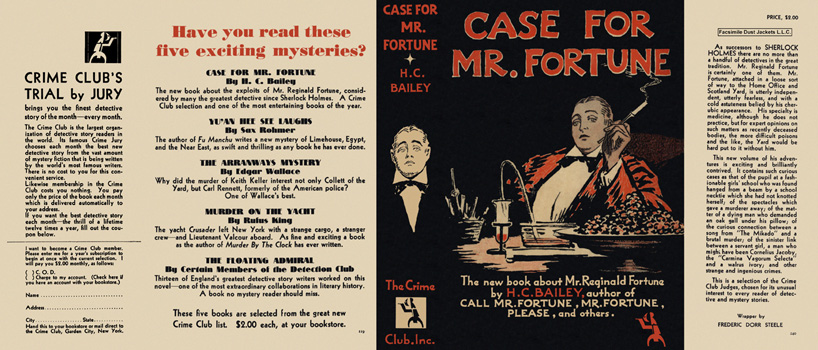 Case for Mr. Fortune. H. C. Bailey