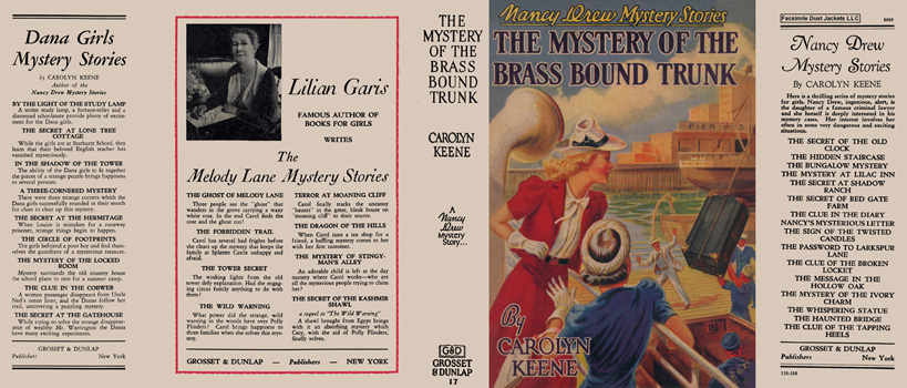 Nancy Drew #17: Mystery of the Brass Bound Trunk, The. Carolyn Keene.