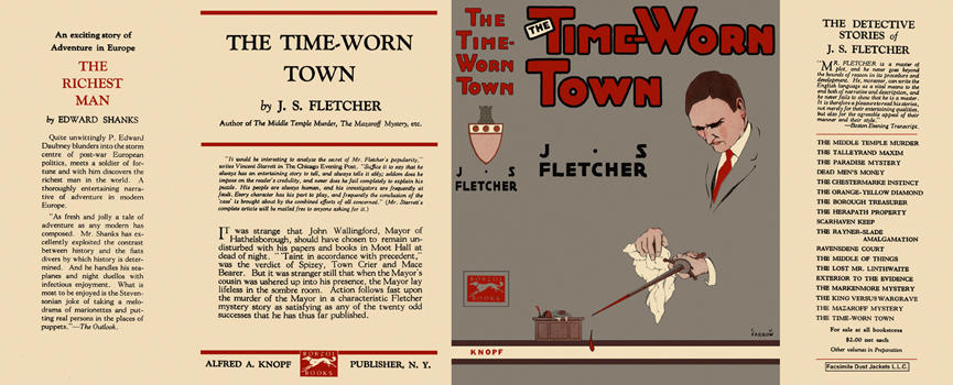 Time-Worn Town, The. J. S. Fletcher