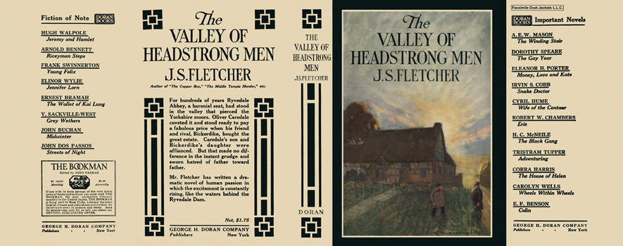 Valley of Headstrong Men, The. J. S. Fletcher